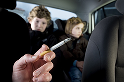 New smoking and driving law