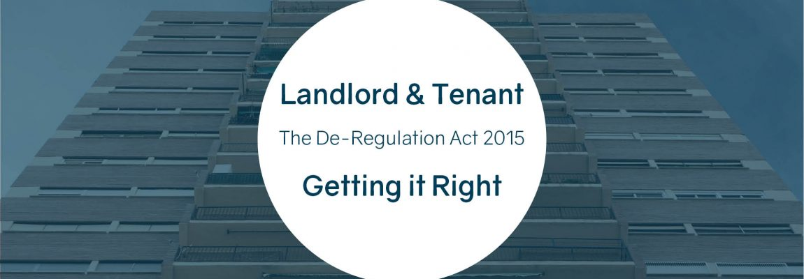 Landlord and Tenant – Getting it Right
