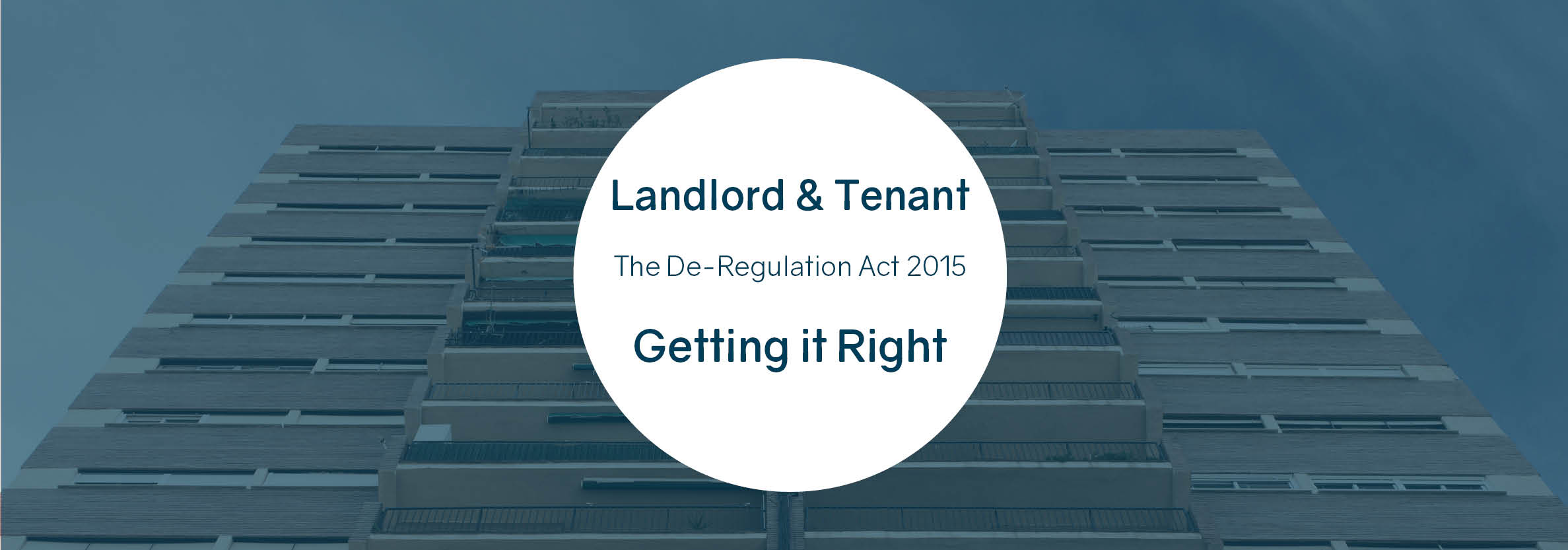 Landlord and Tenant - Getting it Right
