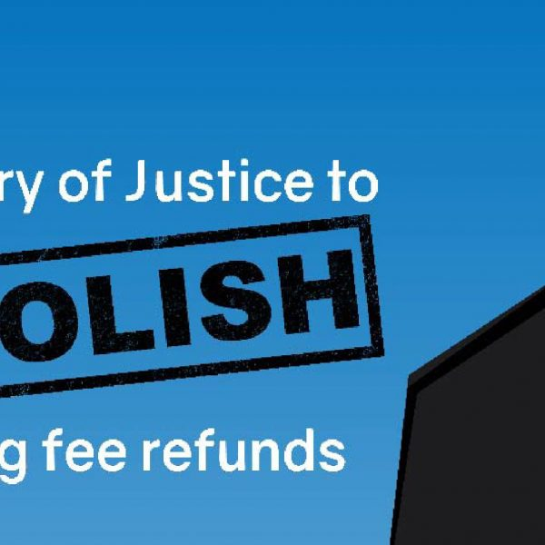 Ministry of Justice to abolish hearing fee refunds