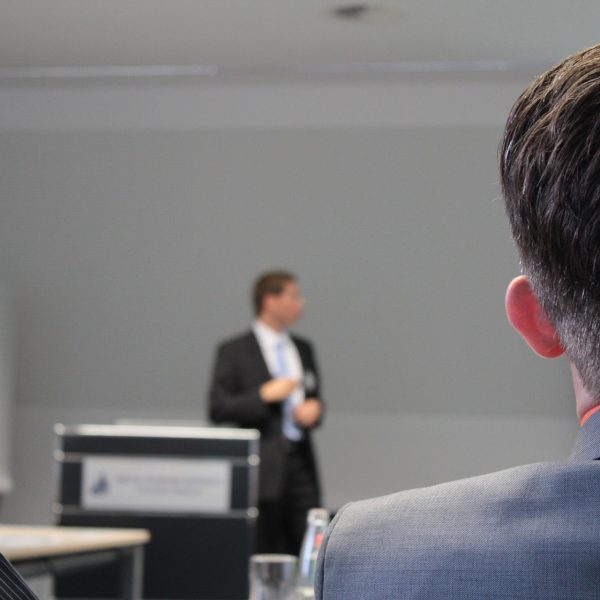 Luke Hunt lectures at The University of Bournemouth