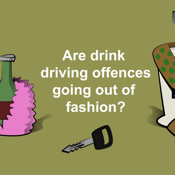 Are drink driving offences going out of fashion?